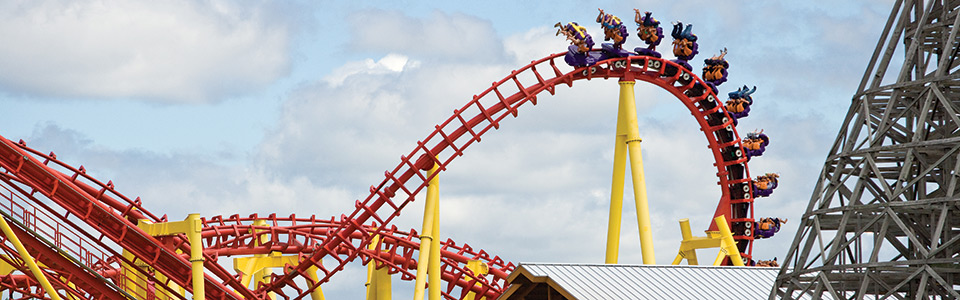Thunder Hawk Roller Coaster
