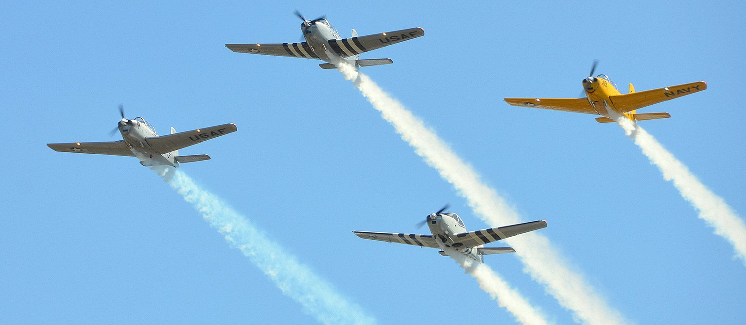 Jets in Airshow