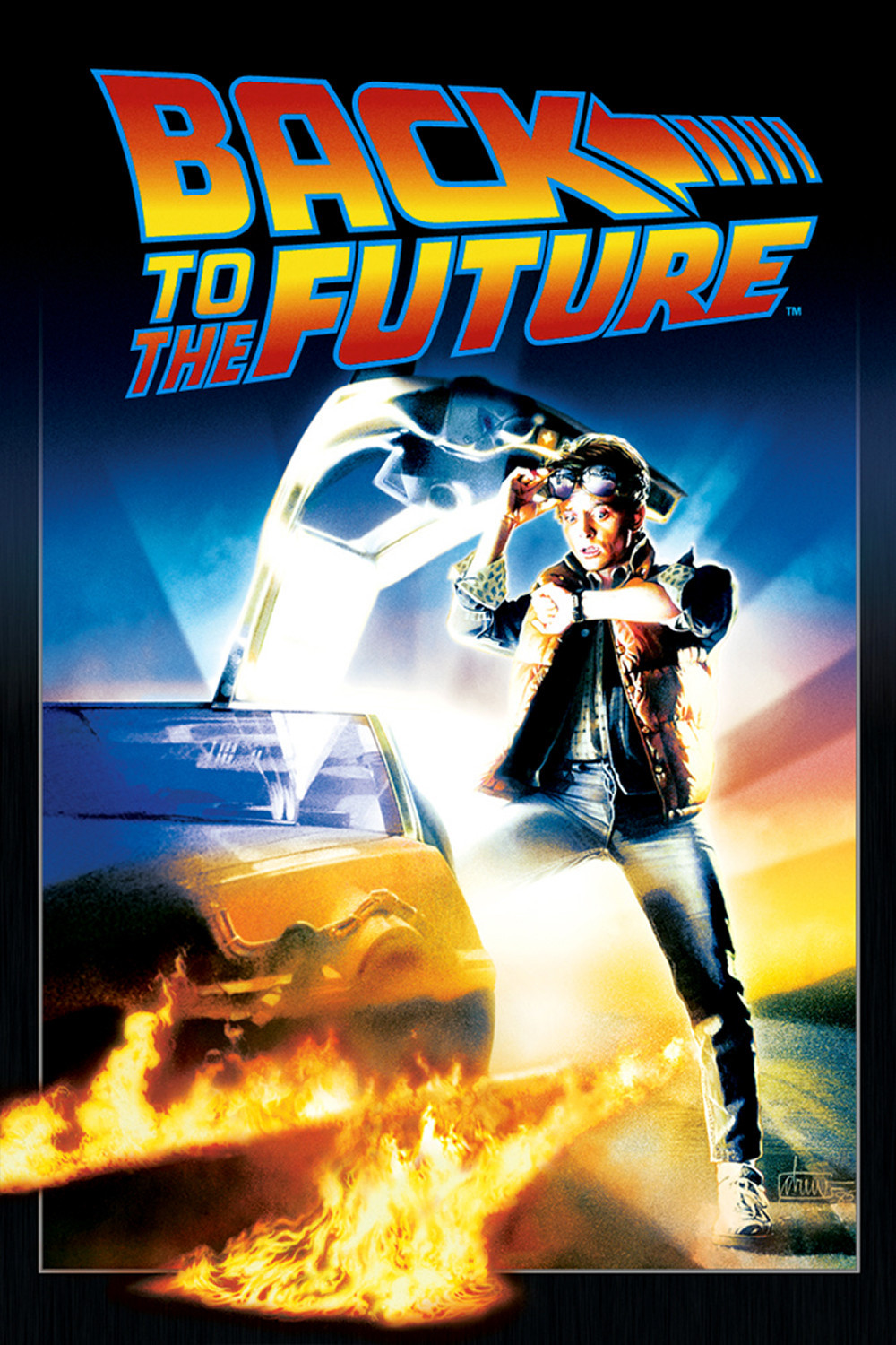 Image result for back to the future poster