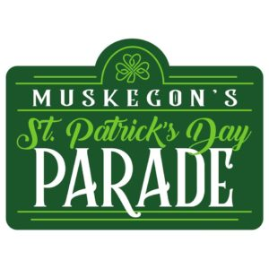 Muskegon's St. Patrick's Day Parade logo