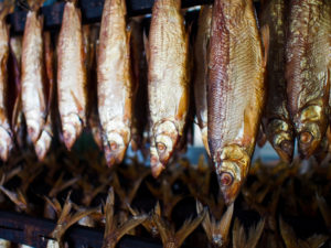 Smoked Great Lake Whitefish