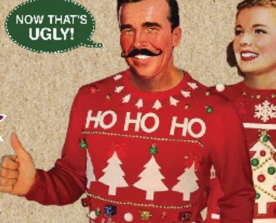 The Ugly Christmas Sweater Party.Pigeon Hill S Annual Ugly Sweater Contest Visit Muskegon