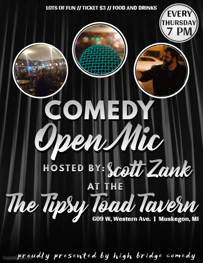 Comedy Open Mic Nightvisit Muskegon
