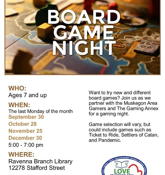 Family Game Night at the Library