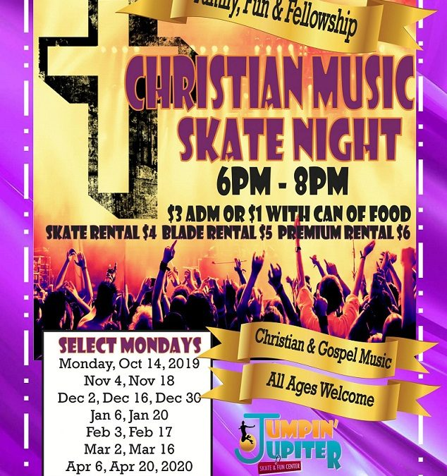 Christian Music Skate Night