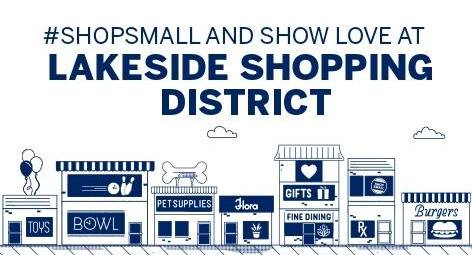 Shop Lakeside Local on Small Business Saturday