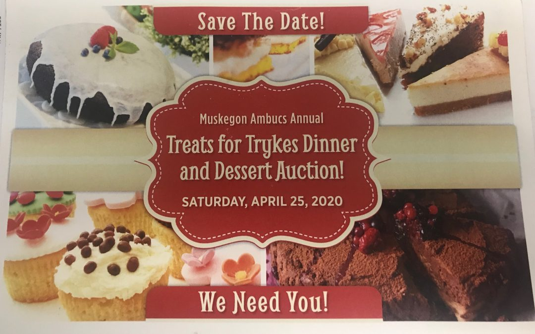 Muskegon Ambucs Annual Treats for Trykes Dinner & Dessert Auction