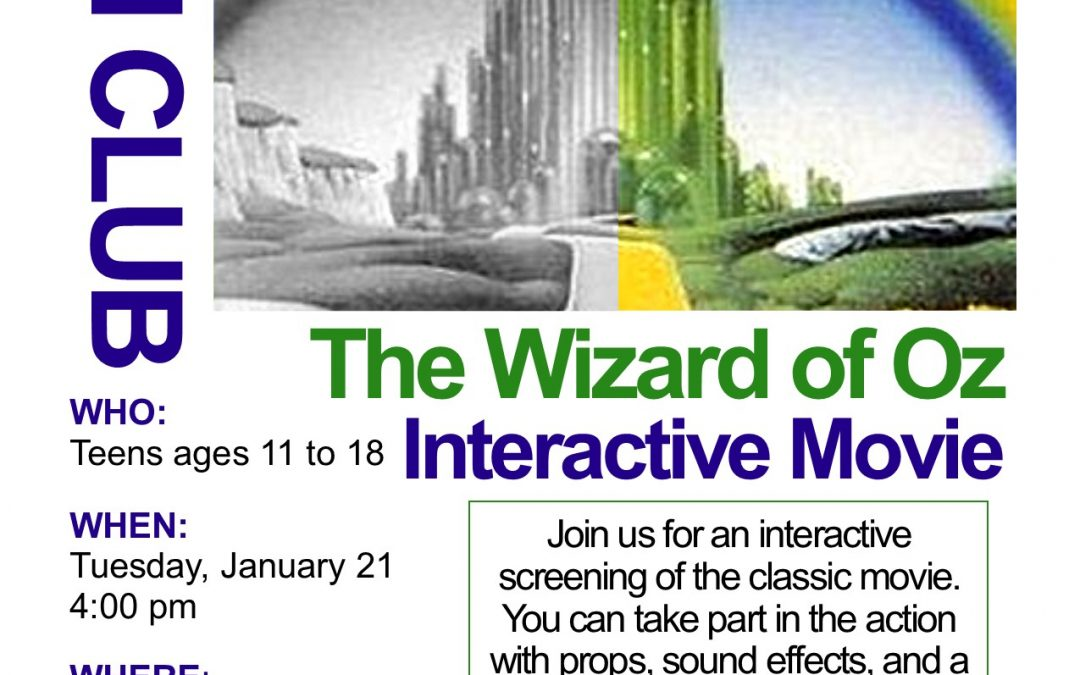 Interactive Movie: The Wizard of Oz