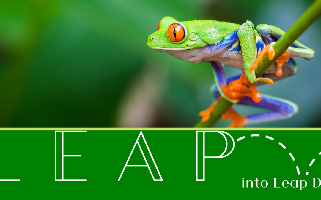 Leap into Leap Day at Hackley Library
