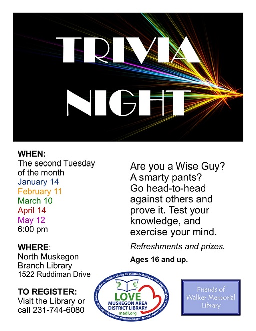 Trivia Night – Canceled