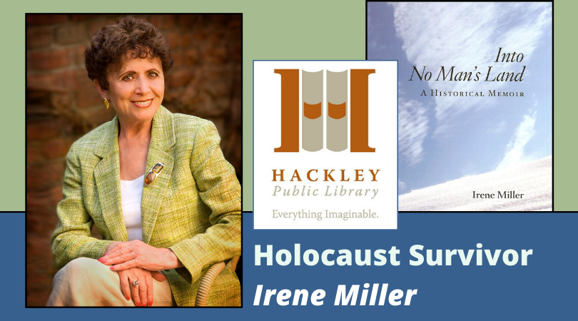 Lecture:  Holocaust Survivor, Irene Miller – POSTPONED