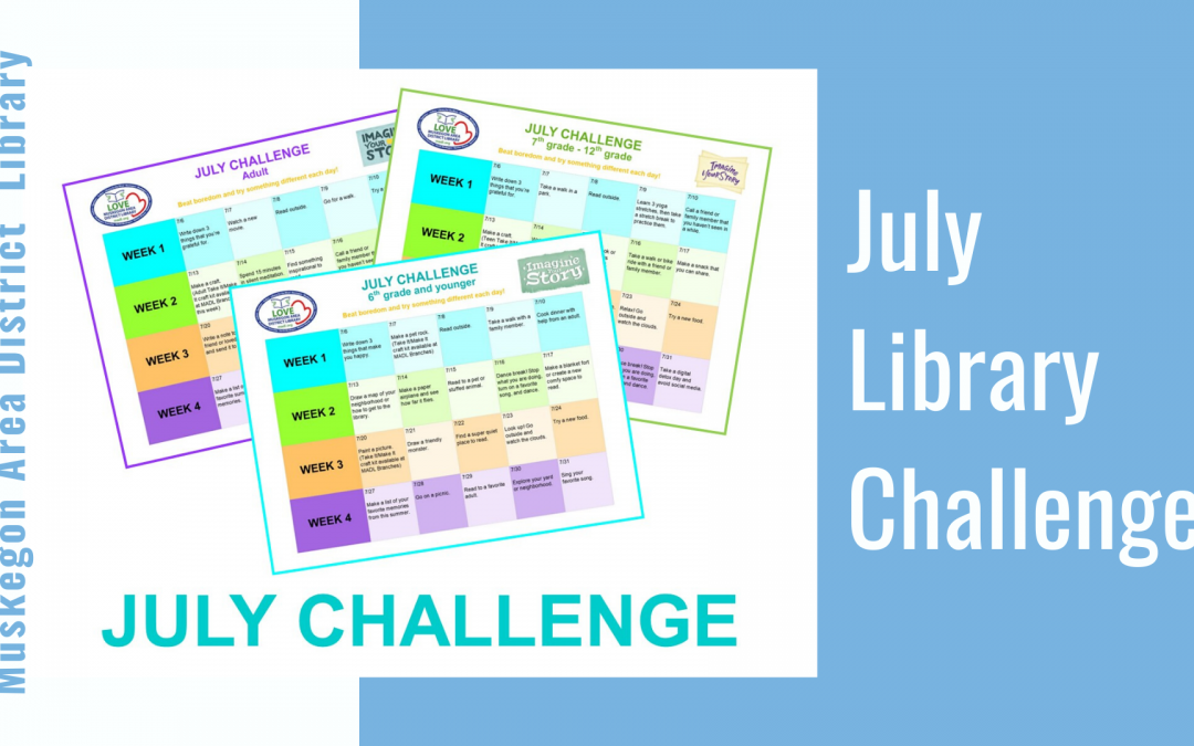 July Library Challenge