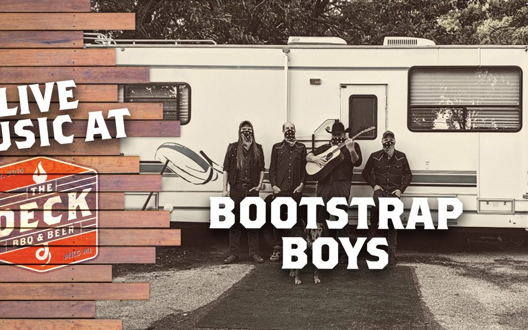 Live Music at the Deck: The Bootstrap Boys