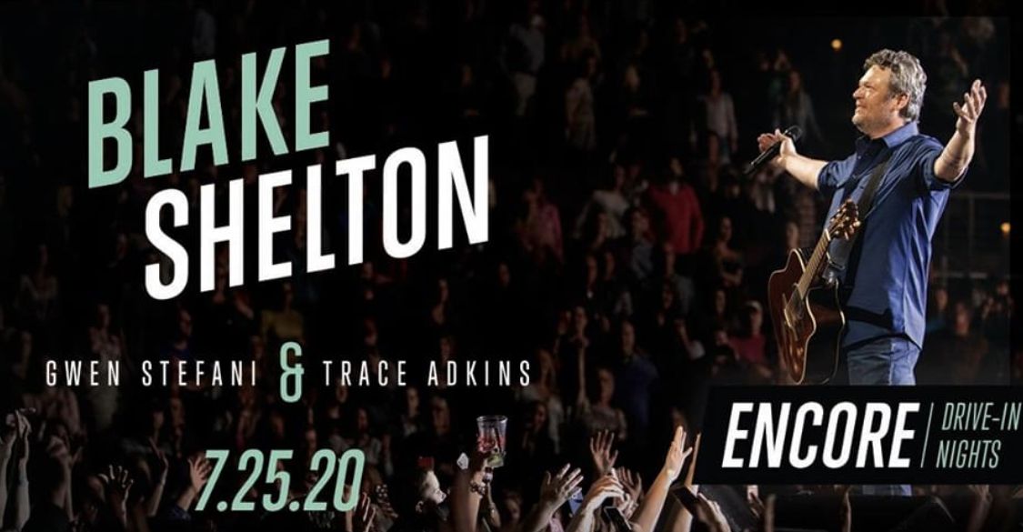 Encore Drive In Nights Presents Blake Shelton Visit Muskegon