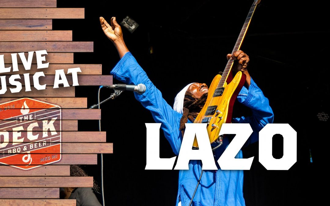 Live Music at The Deck: Lazo