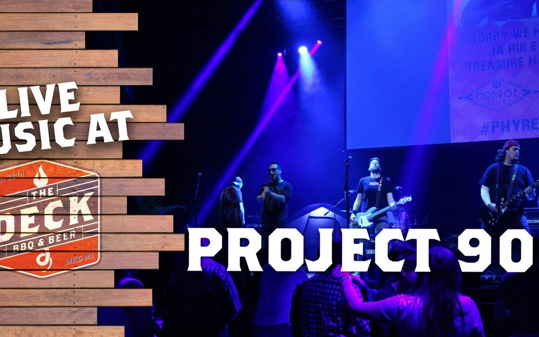 Live Music at The Deck: Project 90
