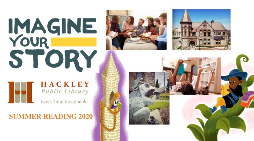Imagine Your Story – 2020 Summer Reading Program with Hackley Public Library