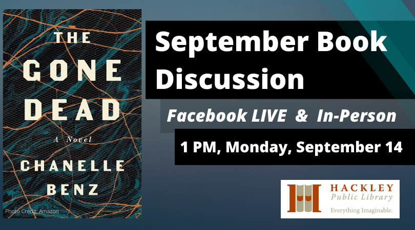 The Gone Dead – September Book Discussion with Hackley Library