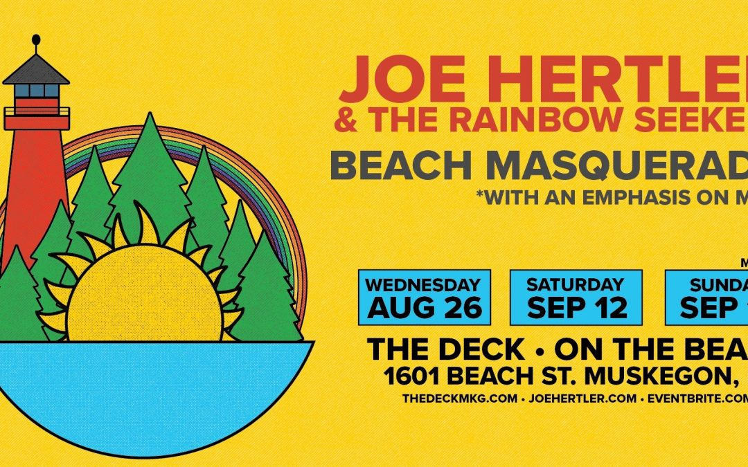 Live Music at The Deck: Joe Hertler and the Rainbow Seekers!