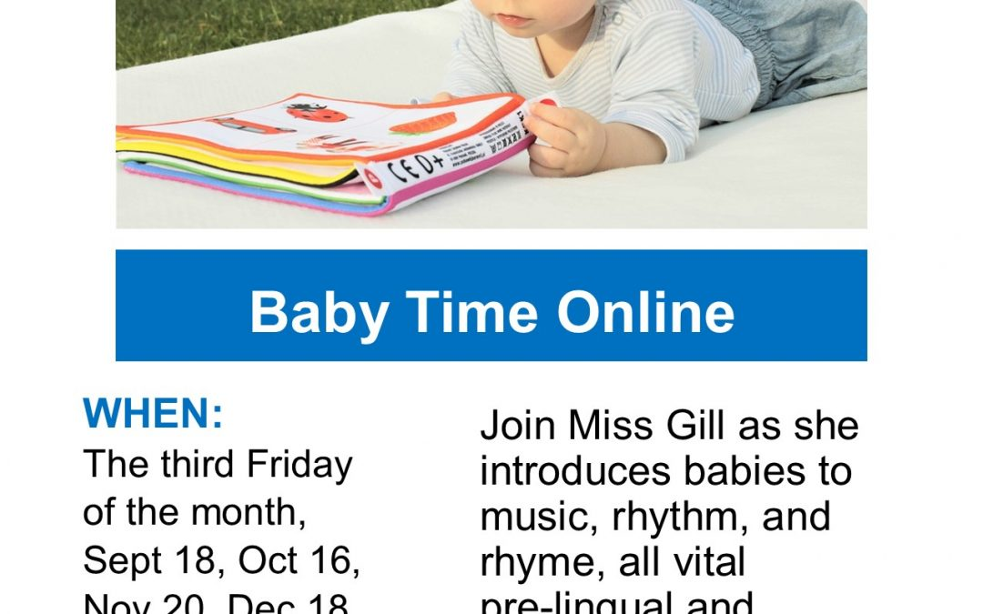 Baby Time Online with Muskegon Area District Library