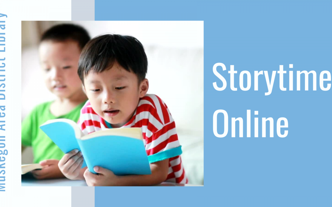 Muskegon Area District Library Storytime Online