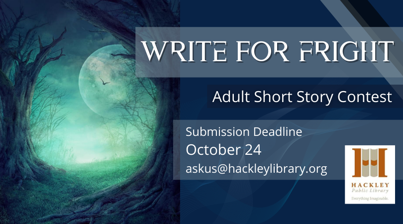 Write for Fright – Adult Short Story Contest