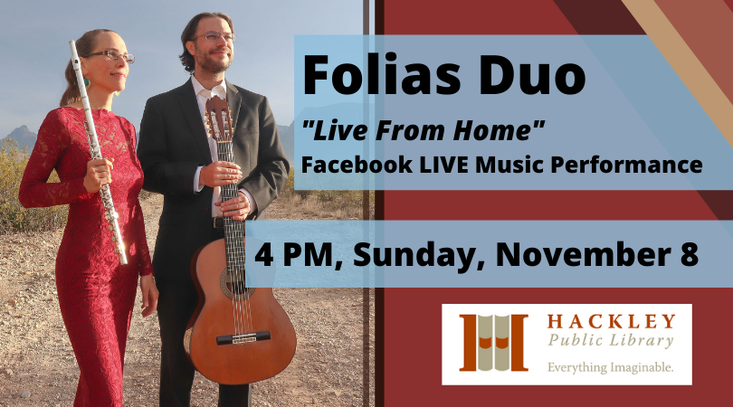 """Folias Duo """"Live from Home"""" – Virtual Music Performance"""
