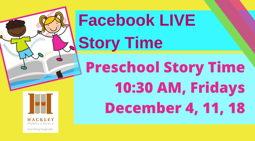 Preschool Story Time Facebook Live With Hackley Library Visit Muskegon No more flying by the seat of your pants. visit muskegon