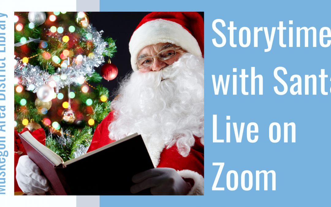 Storytime with Santa  Live on Zoom