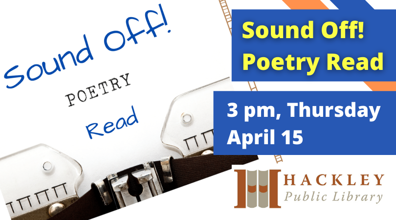 Sound Off! Poetry Read: Virtual