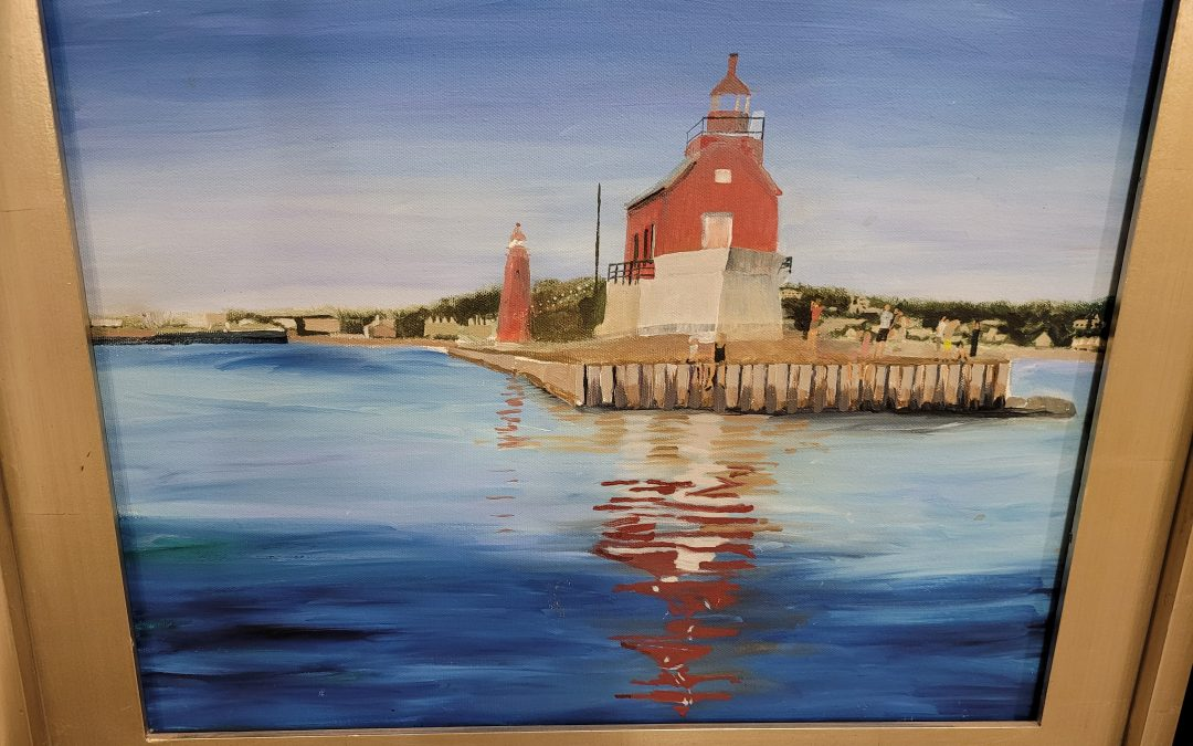 Wine and Canvas – Grand Haven Light House