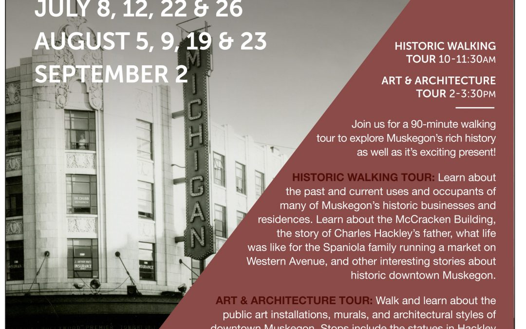 Downtown Muskegon Art and Architecture Tour