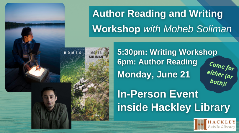 Author Reading and Writing Workshop with Moheb Soliman