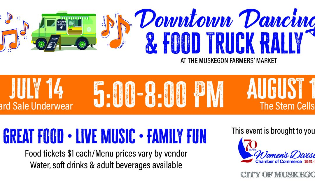Downtown Dancing and Food Truck Rally