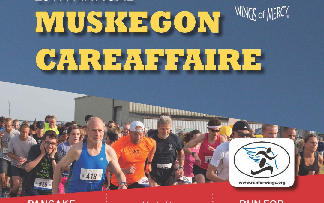 Muskegon CareAffaire, Run for Wings 5K and Lions Pancake Breakfast