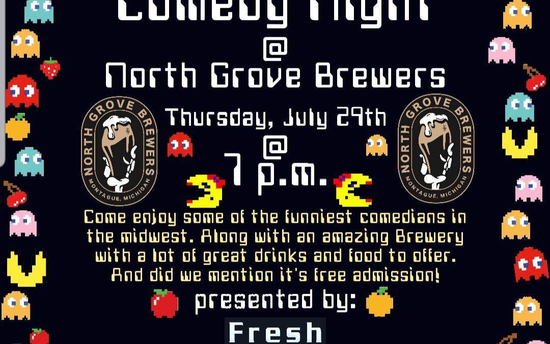 Comedy Night at North Grove Brewers with Fresh Ghost Comedy