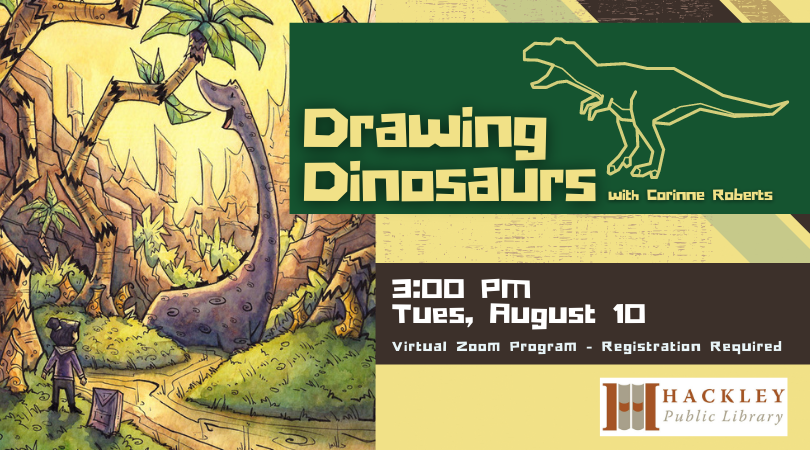 Drawing Dinosaurs with Corinne Roberts