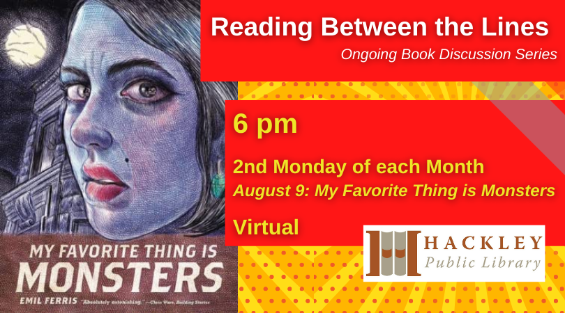 My Favorite Thing is Monsters – Virtual Book Discussion!