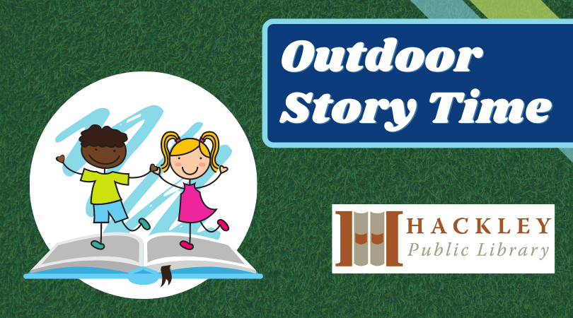 Outdoor Story Time with Hackley Library