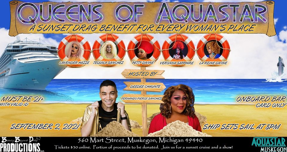 Queens of the Aquastar – A Sunset Benefit for Every Woman's Place
