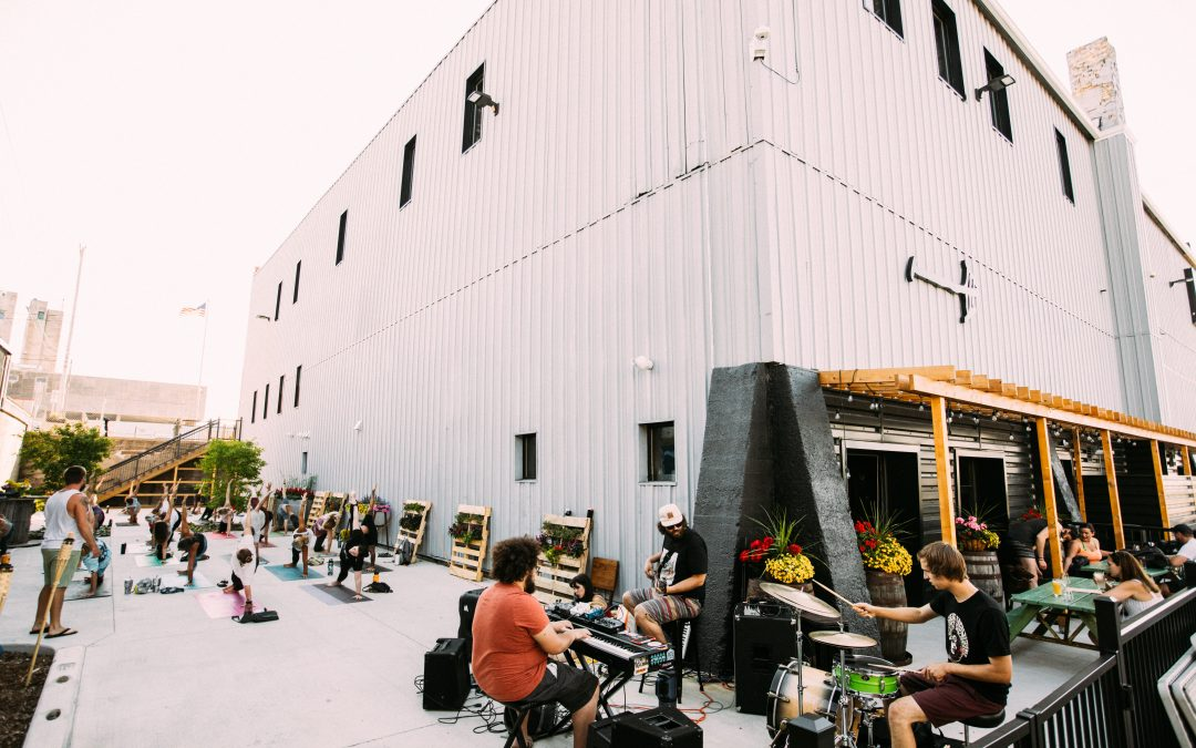 Yoga and Live Music at Rake Beer Project