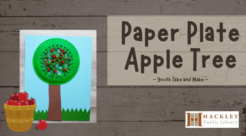 Paper Plate Apple Tree – Youth Take and Make