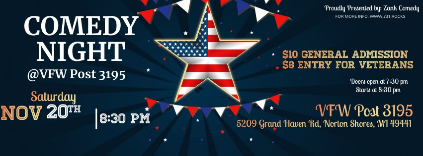 Comedy Night at the VFW Post 3195