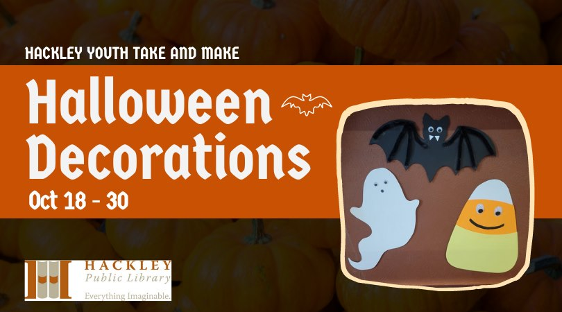 Halloween Decorations – Youth Take and Make