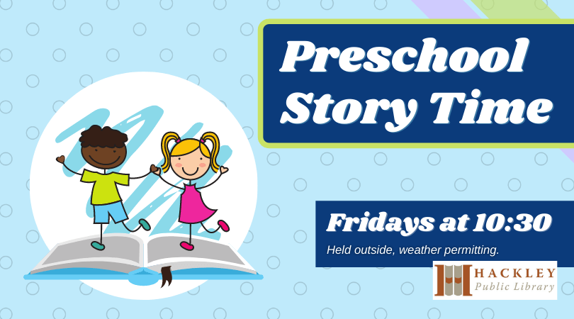 Preschool Story Time with Hackley Library