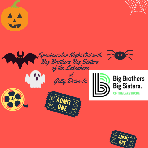 Spooktacular Night Out with Big Brothers, Big Sisters at Getty Drive-In